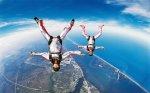 «Зачёт» по 20 прыжкам с парашютом