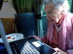 Бабушки с ноутбуком